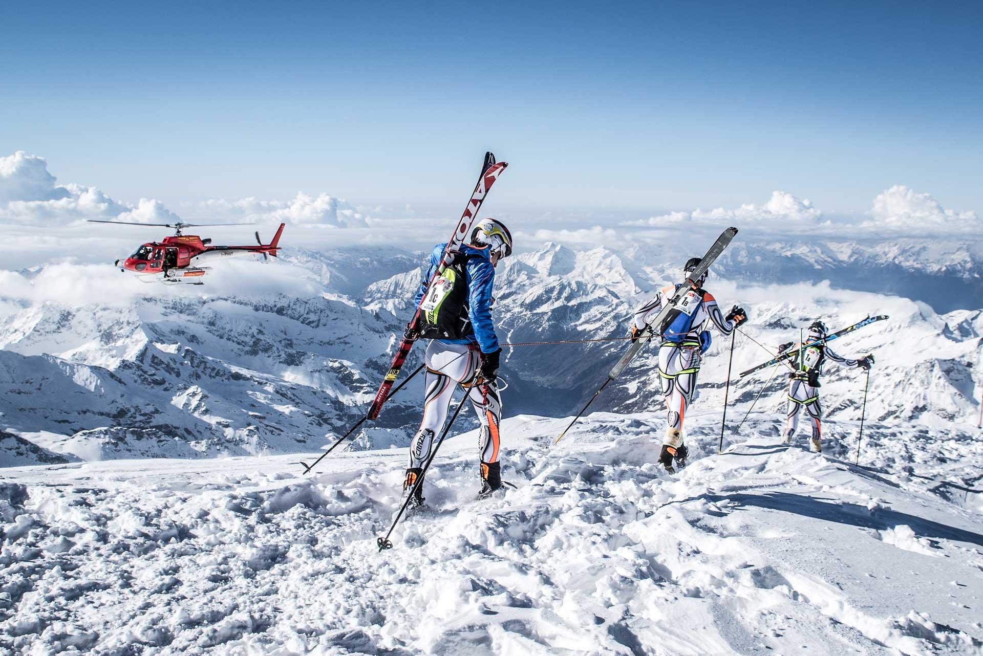 Misurina Ski mountaineering