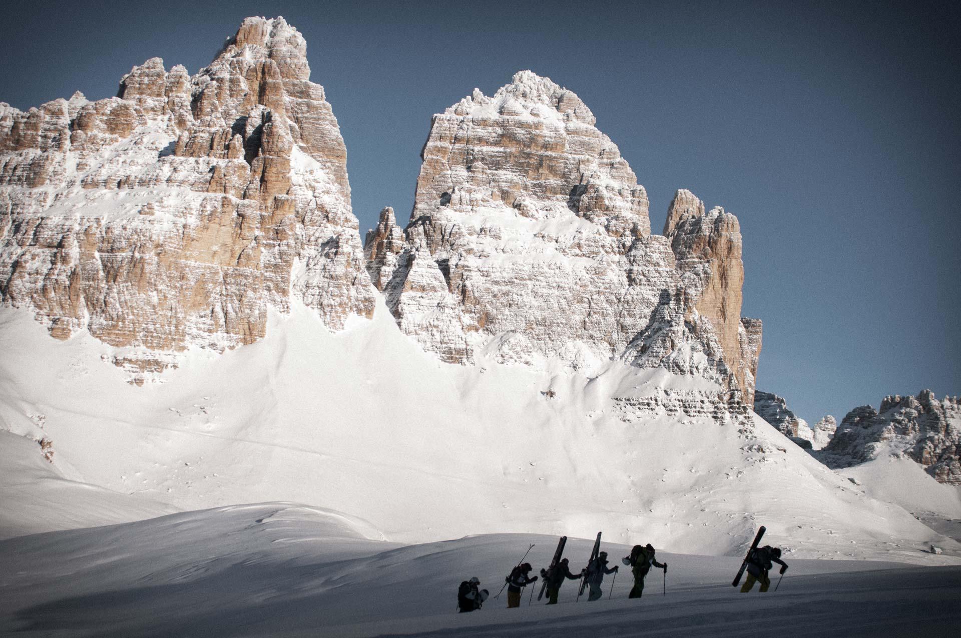 Chalet Lago Antorno. Ski mountaineering