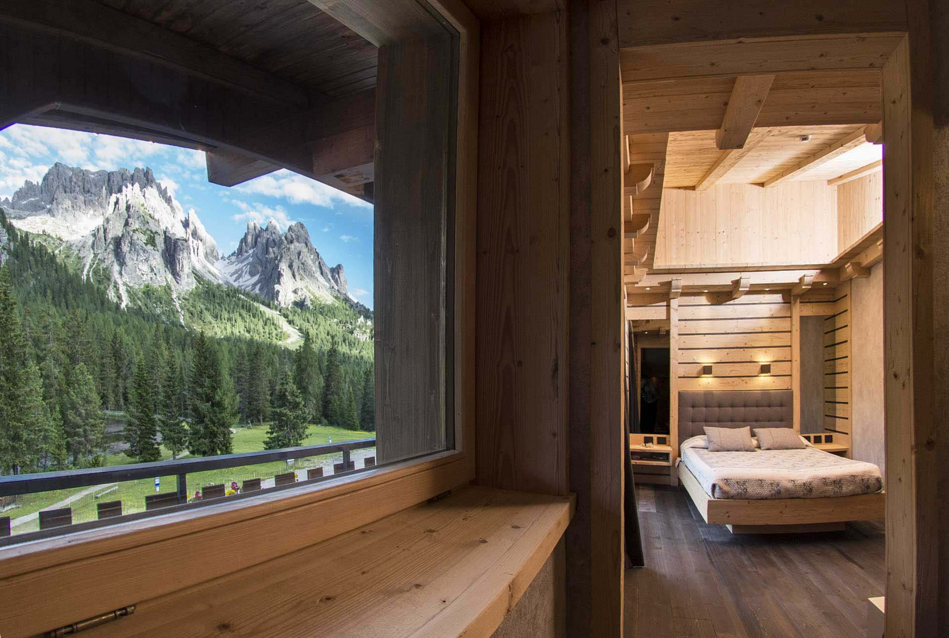 Chalet Lago Antorno Rooms